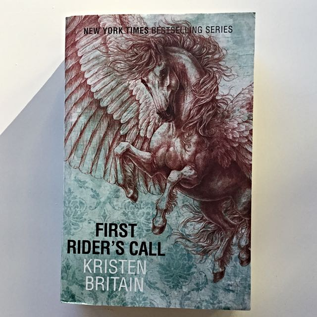 First Rider's Call By Kristen Britain Paperback Novel