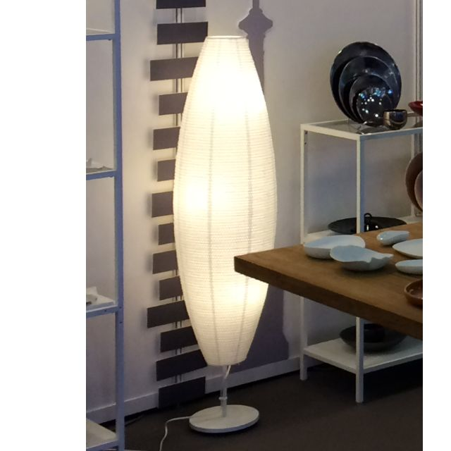 New Floor Lamp White Oval White Bulbs Ikea Sollefte 197 Furniture On Carousell