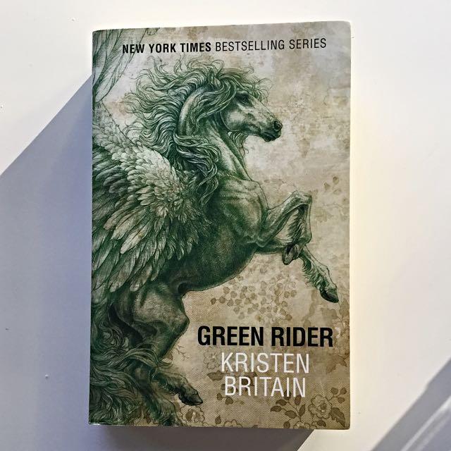 Green Rider By Kristen Britain Paperback Novel