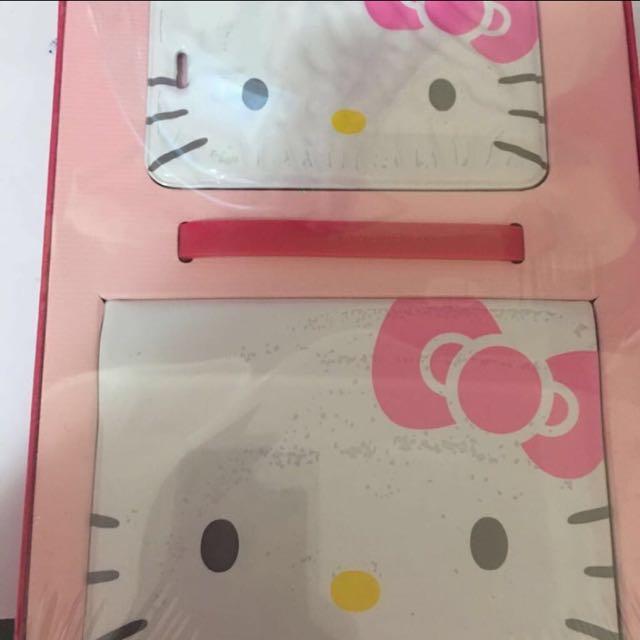 長榮航空hello Kitty護照夾行李袋