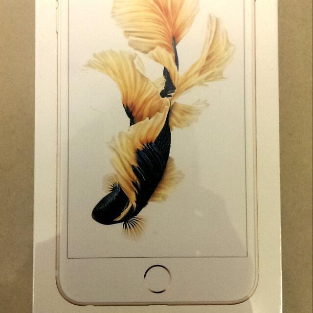 iphone 6s Plus 64GB 香檳金