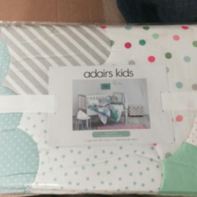 Kids Adairs Cot Blanket Brand New