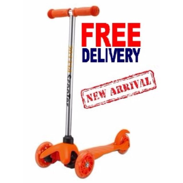 Kids scooter / Kids kick scooter / kick scooter / 3 wheels scooter / 3wheels kick scooter / Value for money / Kick bike / Kids Sport / Scooter / Scooting / Kids outdoor sports / Kids Toy / Kids flashing scooter / flashing scooter