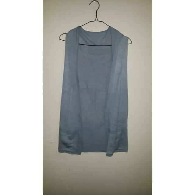 Knitted Vest With Pocket