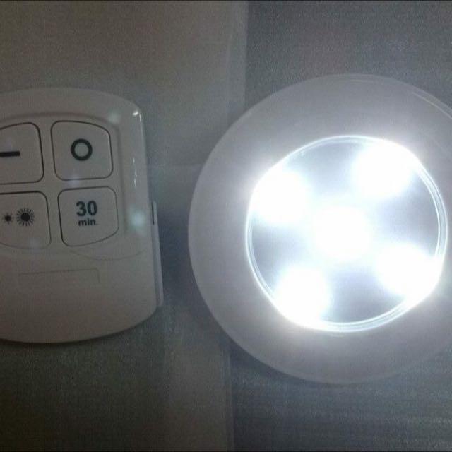 遙控LED燈+遙控器 拍拍燈 白光 暖光