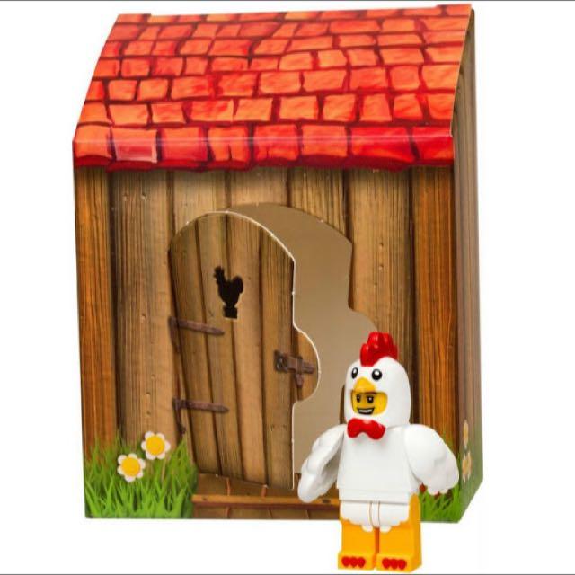 Lego 復活節限定 公雞人