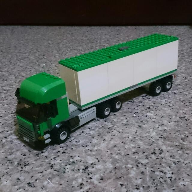 lego custom moc 7733 cargo truck toys amp games on carousell