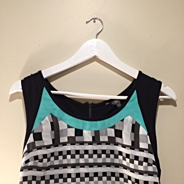 Marks & Spencer's Geometric Top
