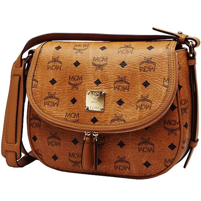 46044146fc MCM Medium Shoulder Bag - Vintage Visetos MWS2SVI07CO001