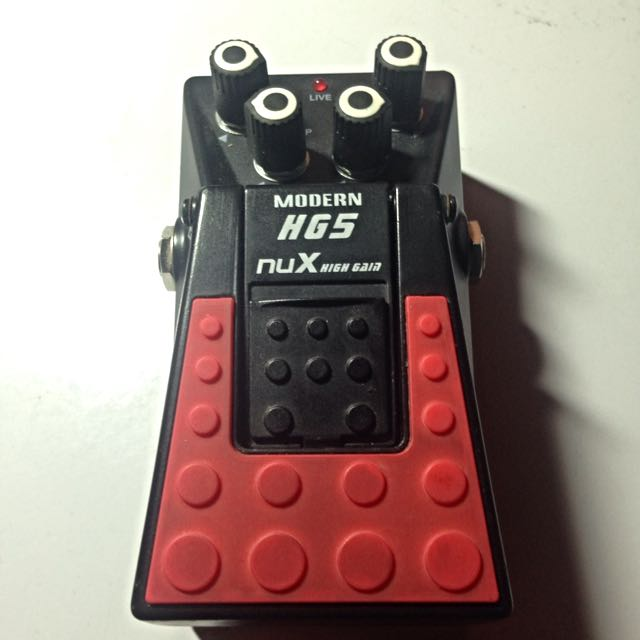Nux Hg5 High Gain..