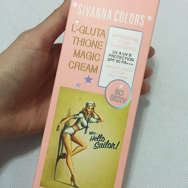 Sivanna Color魔法美白乳(取代水粉)(隱形絲襪)