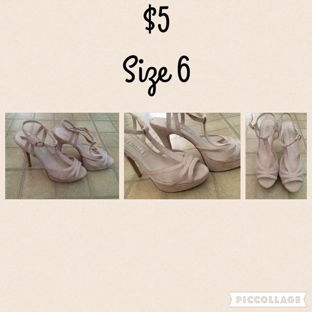 Size 6 Satrapy Heels