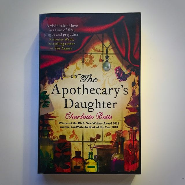 The Apothecary's Daughter By Charlotte Betts Paperback Novel