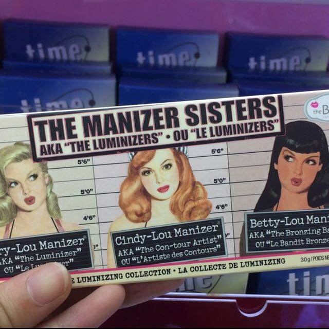 theBalm🇺🇸The Manizer Sisters