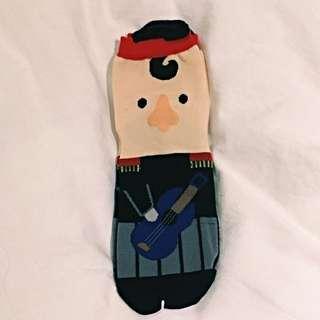 可愛小兵韓國進口襪子