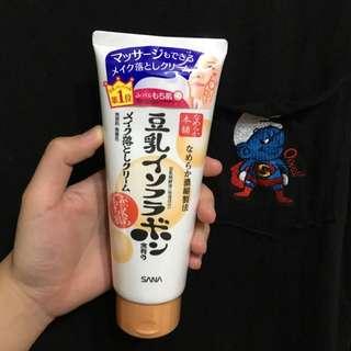 全新日本帶回 豆乳卸妝乳