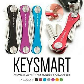 Authentic KeySmart Key Organizer (Fit 2 To 8 Keys) Made In Chicago, USA
