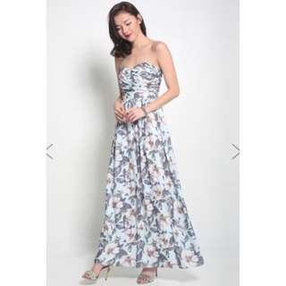 Love Bonito Nalini Maxi Bustier Dress