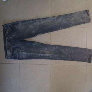 Neon Blonde Jeans