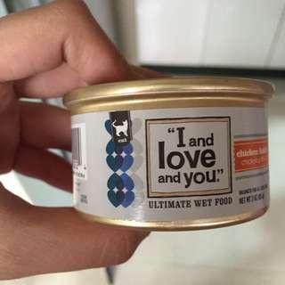 美國I and love and you雞肉罐