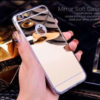 Luxury Mirror iPhone Silicon Case