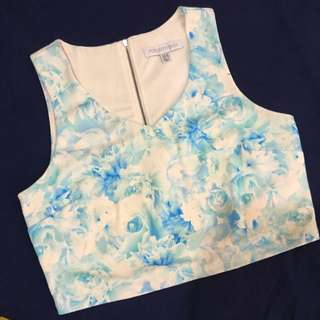 Forever New Floral Crop Top