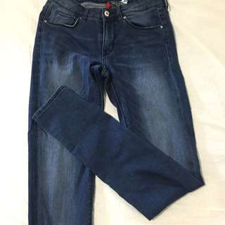 H&M Divided Ankle Length Skinny Jeans