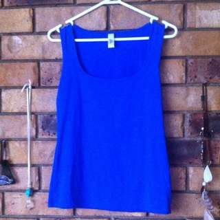 Blue Intimo Top