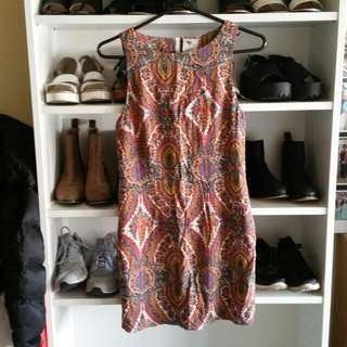 3 FOR $50 Tribal Tropical Design Dress