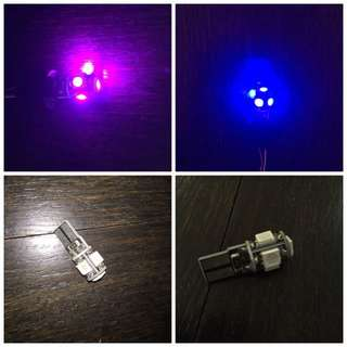 *INSTOCK - T10 Led Bulb For Position, Interior & Number Plate
