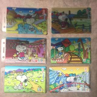 Snoopy精緻3D立體台灣美景悠遊卡套/卡片夾
