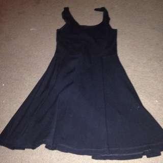 [Reserved] Black Topshop Dress