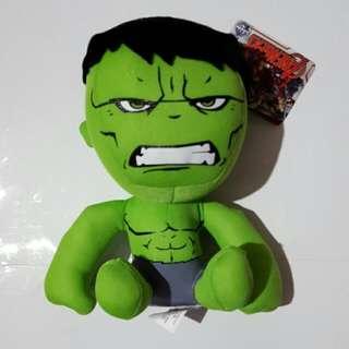 hulk plush toy