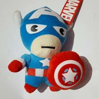 captain america plush toy