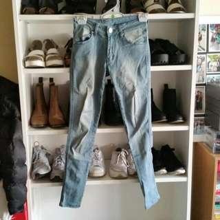 Zara Replica Blue Stretchy Jeans 3 FOR $30