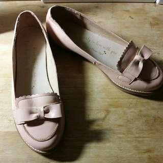 公主風娃娃鞋 25.5號 大尺碼女鞋 #五百元好女鞋