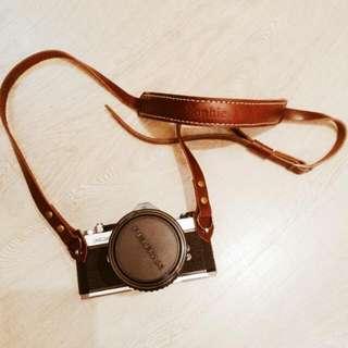 純手作真皮可調節式客製相機背帶