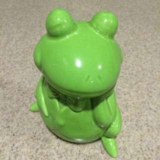 青蛙瓷器存錢筒