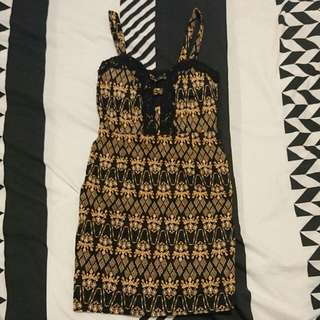Size 6 Ally Tight Fit Dress