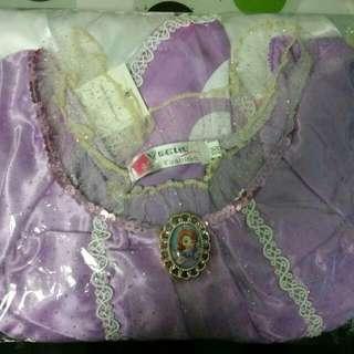 New Princess Sofia Costume Dress (Size 100)