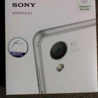 Sony Z3 Silver Green