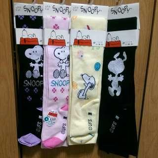 童正版snoopy褲襪