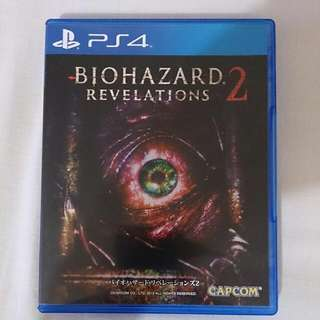 PS4(BIOHAZARD REVELATIONS 2(中文字幕