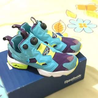 (保留)降價!Reebok Pump Fury 毛怪