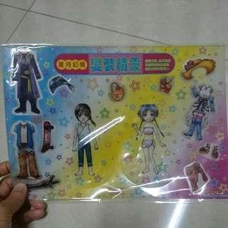 [漫畫周邊]依歡 塑膠紙娃娃