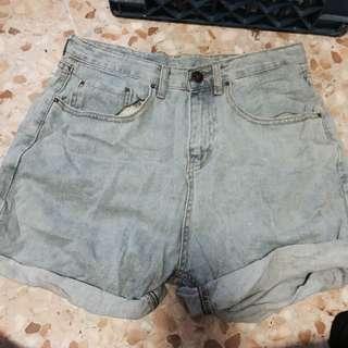 High Waist Baggy Shorts