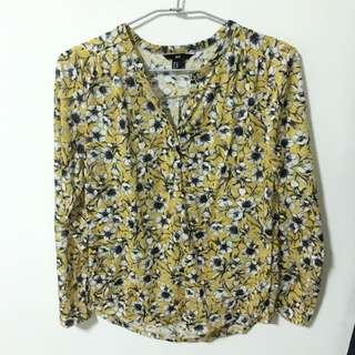 H&M 花襯衫