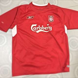 8c4b89a9c Authentic Liverpool Home Jersey Season 2004 05 (Size XLarge) Champions  League Winning Jersey