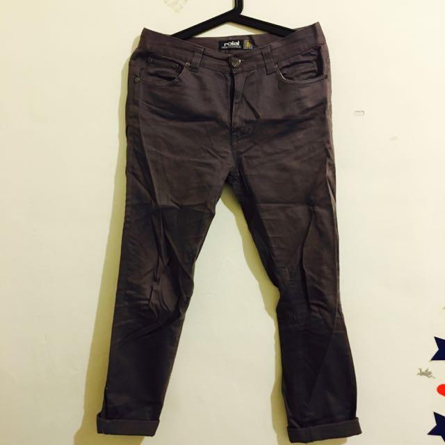 【二手】鐵灰色窄褲