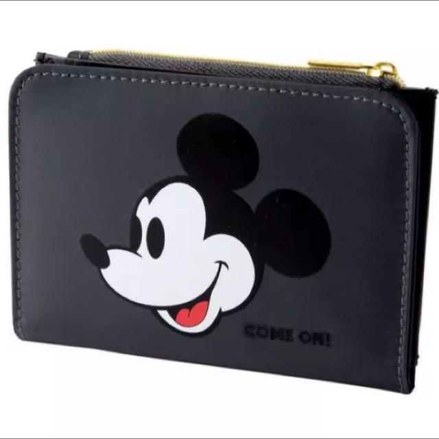 「日雜附錄」米奇復古零錢包、短夾、信用卡包